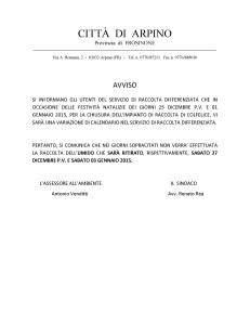 AVVISO DIFFERENZIATA