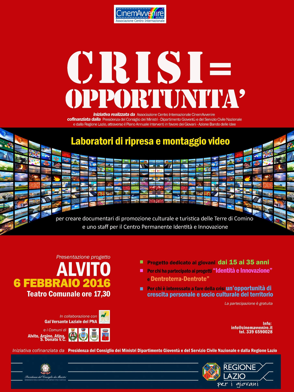 crisi=opportunità