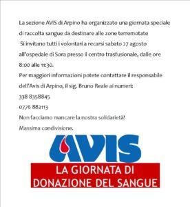donazione avis